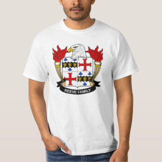 Escudo de la familia de Reeve Camisas