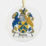 Escudo de la familia de Reeves Adorno De Reyes