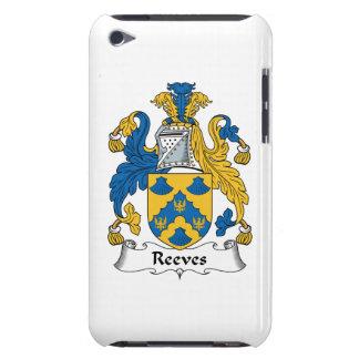 Escudo de la familia de Reeves Carcasa Para iPod