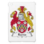 Escudo de la familia de Reeves iPad Mini Protectores