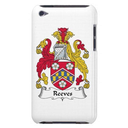 Escudo de la familia de Reeves iPod Touch Case-Mate Cobertura