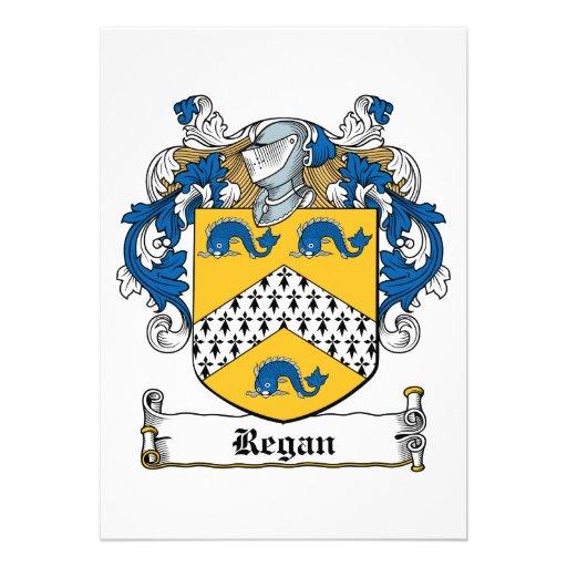 Escudo de la familia de Regan Anuncio
