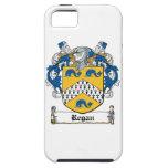 Escudo de la familia de Regan iPhone 5 Case-Mate Coberturas