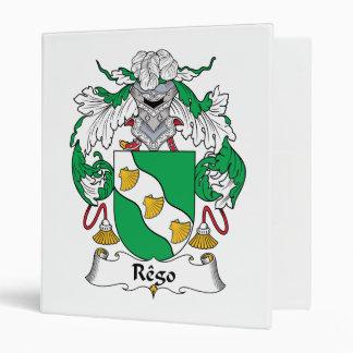 Escudo de la familia de Rego