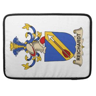 Escudo de la familia de Reichardt Fundas Para Macbooks