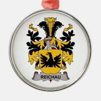 Escudo de la familia de Reichau Ornaments Para Arbol De Navidad