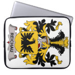 Escudo de la familia de Reichau Fundas Portátiles