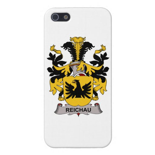 Escudo de la familia de Reichau iPhone 5 Carcasa