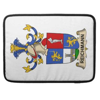 Escudo de la familia de Reichmann Funda Macbook Pro