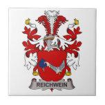 Escudo de la familia de Reichwein Azulejos Ceramicos