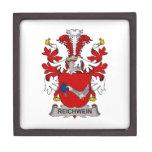 Escudo de la familia de Reichwein Caja De Joyas De Calidad