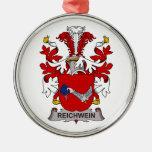 Escudo de la familia de Reichwein Ornamento De Navidad