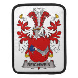 Escudo de la familia de Reichwein Fundas Para iPads