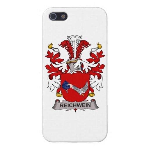 Escudo de la familia de Reichwein iPhone 5 Cárcasas