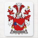 Escudo de la familia de Reichwein Tapete De Ratón