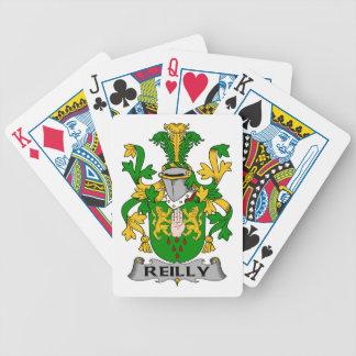 Escudo de la familia de Reilly Barajas De Cartas