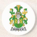Escudo de la familia de Reilly Posavasos Para Bebidas