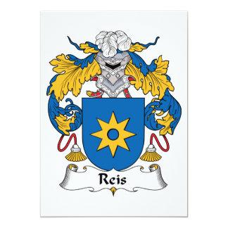 Escudo de la familia de Reis Anuncios