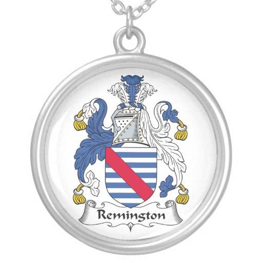 Escudo de la familia de Remington Colgante Redondo