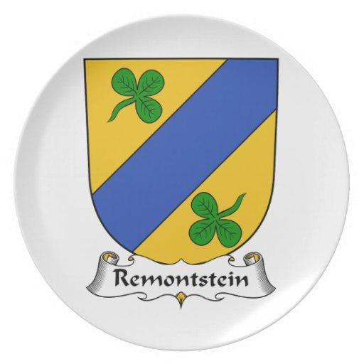 Escudo de la familia de Remontstein Platos