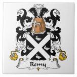 Escudo de la familia de Remy Azulejo