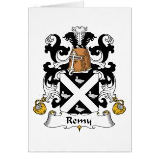 Escudo de la familia de Remy Felicitacion