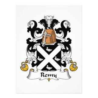 Escudo de la familia de Remy Invitación Personalizada