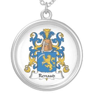 Escudo de la familia de Renaud Colgante Redondo
