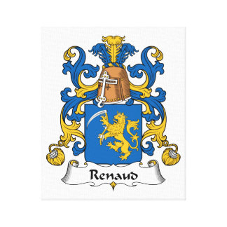 Escudo de la familia de Renaud Lona Envuelta Para Galerías