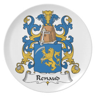 Escudo de la familia de Renaud Plato De Cena