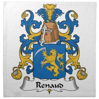 Escudo de la familia de Renaud Servilleta