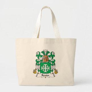 Escudo de la familia de Renier Bolsa Tela Grande
