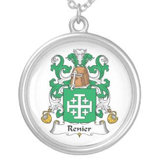 Escudo de la familia de Renier Colgante Redondo