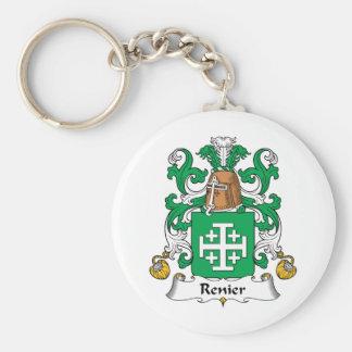 Escudo de la familia de Renier Llavero Redondo Tipo Pin