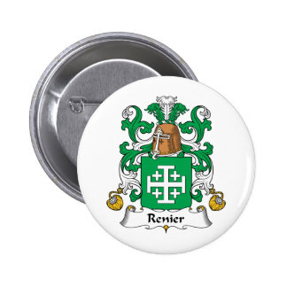 Escudo de la familia de Renier Pin Redondo 5 Cm