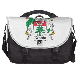 Escudo de la familia de Rennie Bolsas De Ordenador