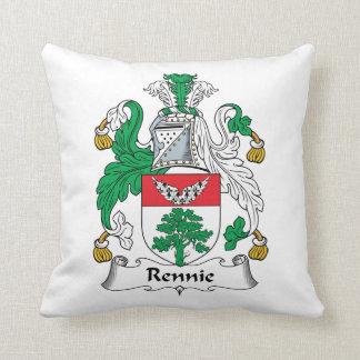 Escudo de la familia de Rennie Cojines