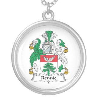 Escudo de la familia de Rennie Pendiente Personalizado