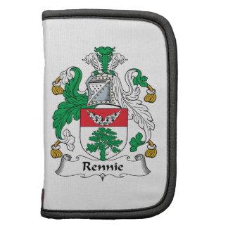 Escudo de la familia de Rennie Organizador