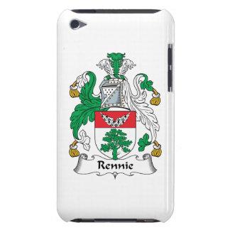 Escudo de la familia de Rennie iPod Touch Carcasa