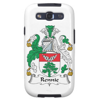 Escudo de la familia de Rennie Galaxy S3 Cobertura