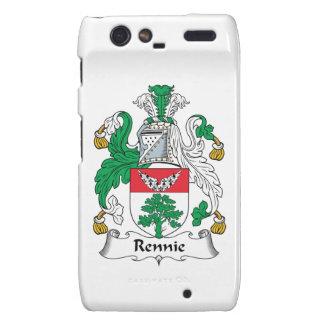 Escudo de la familia de Rennie Droid RAZR Carcasas