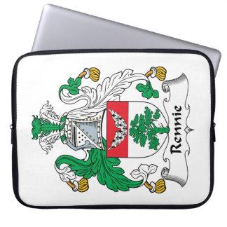 Escudo de la familia de Rennie Funda Ordendadores