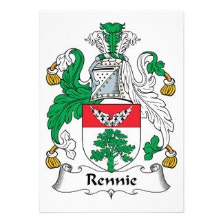 Escudo de la familia de Rennie Anuncios