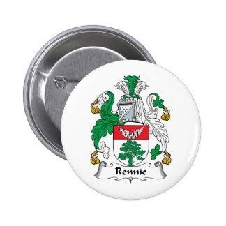 Escudo de la familia de Rennie Pins