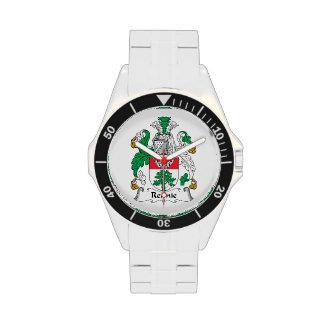 Escudo de la familia de Rennie Relojes De Mano