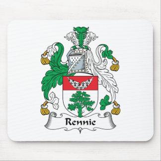 Escudo de la familia de Rennie Alfombrilla De Ratón