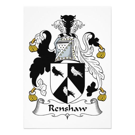 Escudo de la familia de Renshaw Anuncio