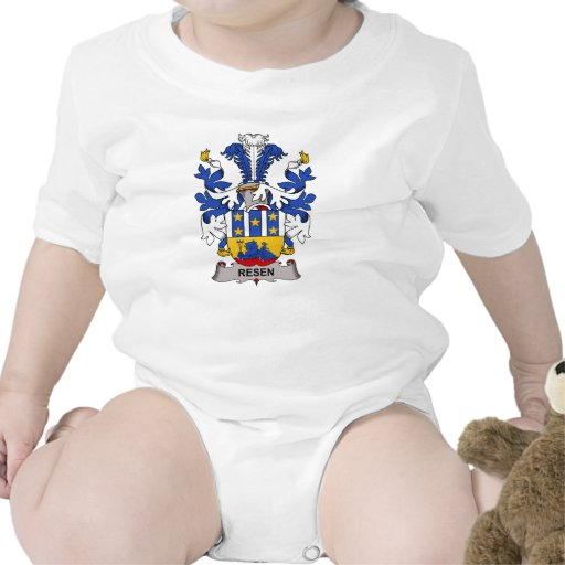 Escudo de la familia de Resen Trajes De Bebé