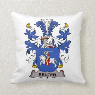 Escudo de la familia de Reuter Cojin